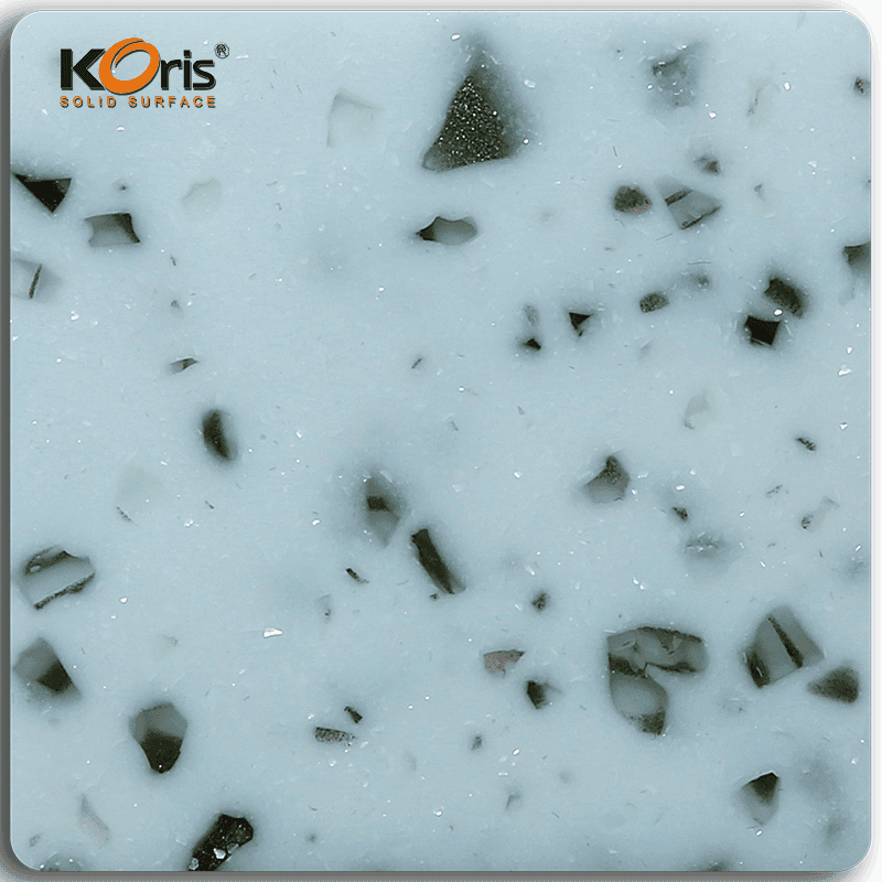 Koris Artificial Amber Series Modified Acrylic Solid Surface Marble Sheet KA30005