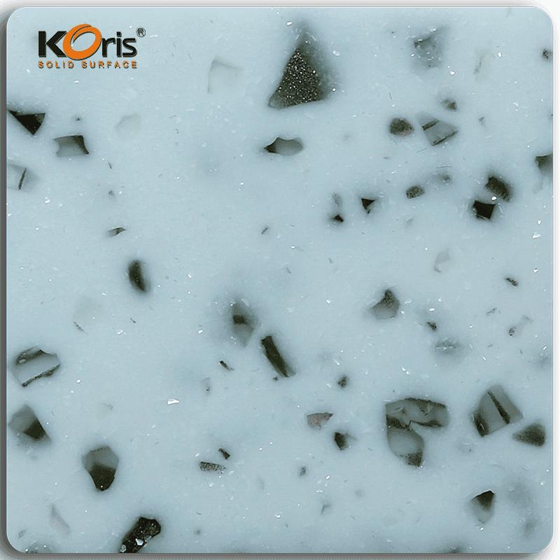 Koris Artificial Amber Series Modified Acrylic Solid Surface Marble Sheet KA30005