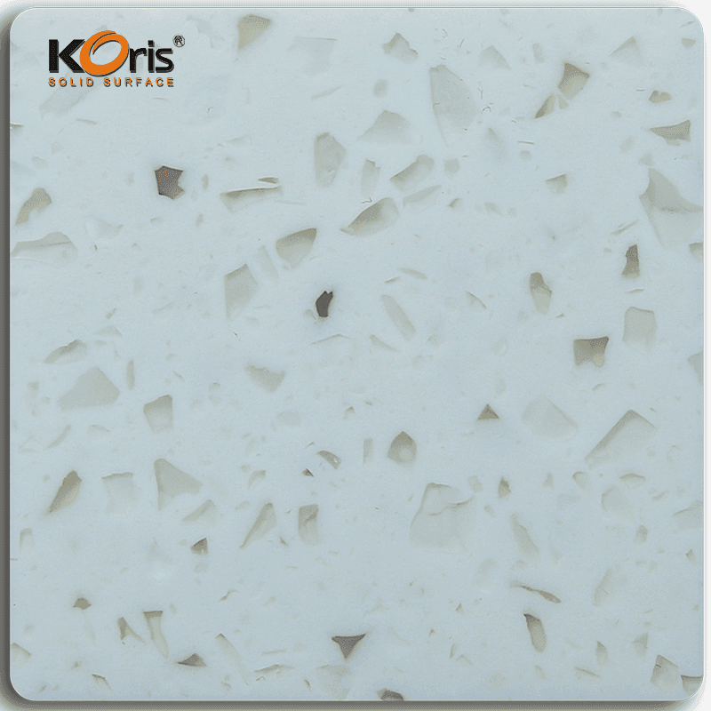 Best Artificial Stone Amber Series Pure Acrylic Solid Surface Sheets For Home Decorative MA20015