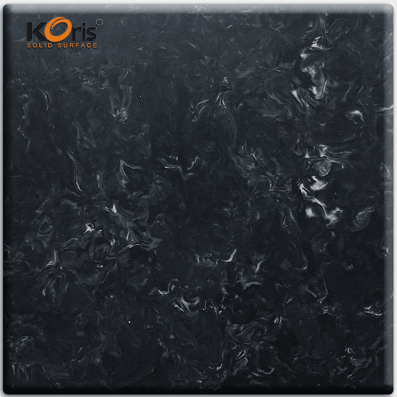 High Quality Koris Artificial Marble Acrylic Sheet For Kitchen Solid Surface Vanity Top HW3804