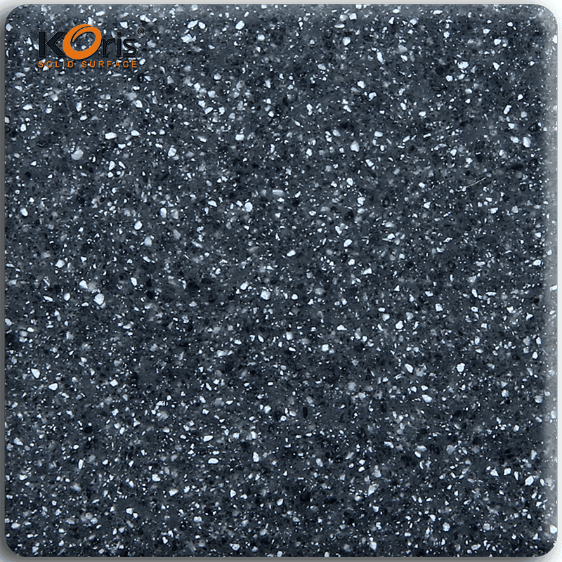 Hot Sale Pure Marble Color Solid Surface Koris Artificial Stone Solid Wall Coverings MA3305