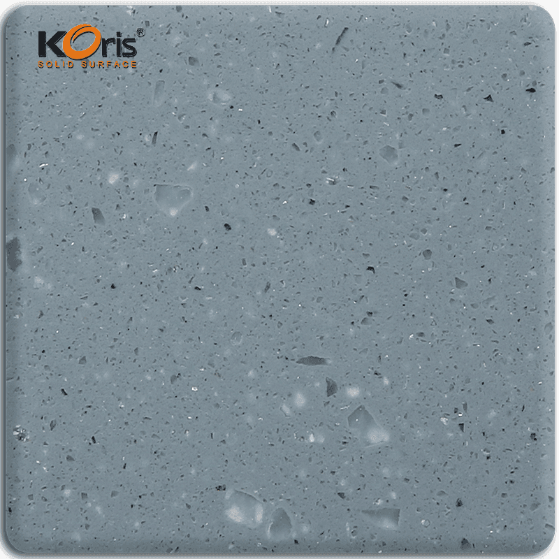 High Quality Koris Sparkle Series Modified Acrylic Solid Surface Vanity Top MA8838