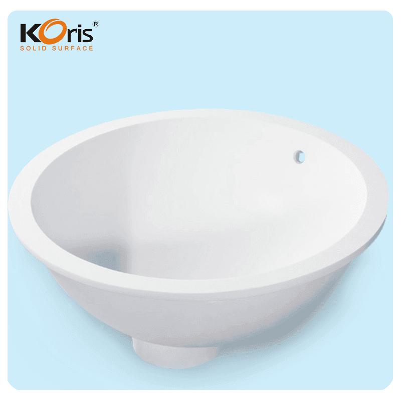 Edge Decorative Bathroom Sinks Face Wash Basin For Countertop Koris