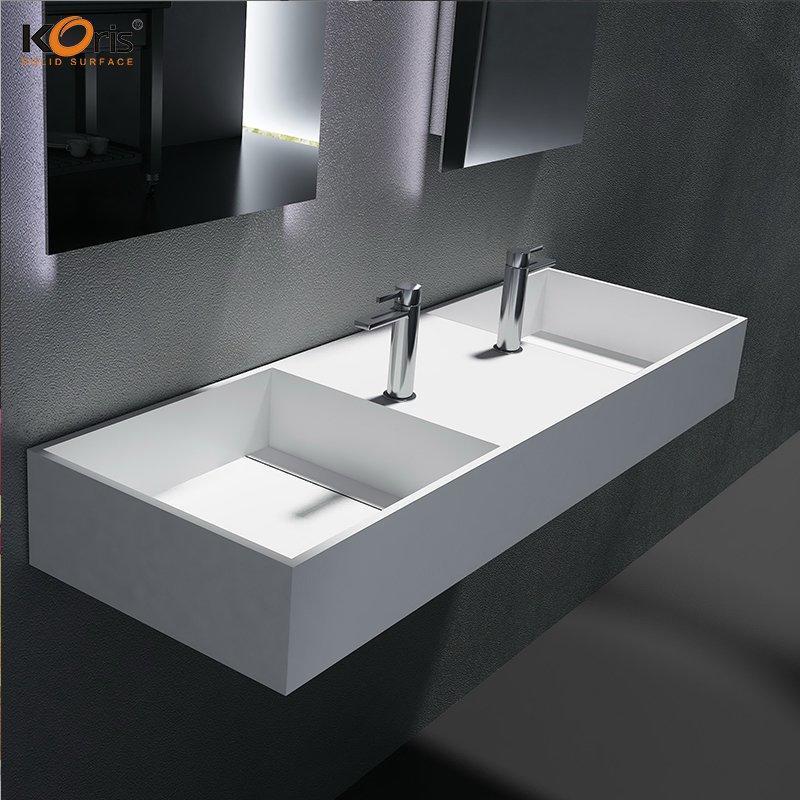 Koris 100% Pure Acrylic Solid Surface Bathroom Sinks WB2030