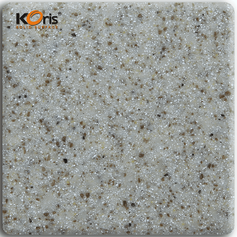 Building Material Koris Artificial Stone Modified Acrylic Solid Surface KA3341