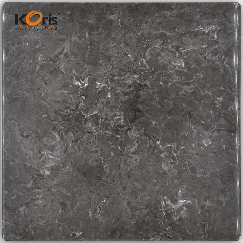 Koris Artificial Marble Solid Surface Stone 25mm Countertops HW2802