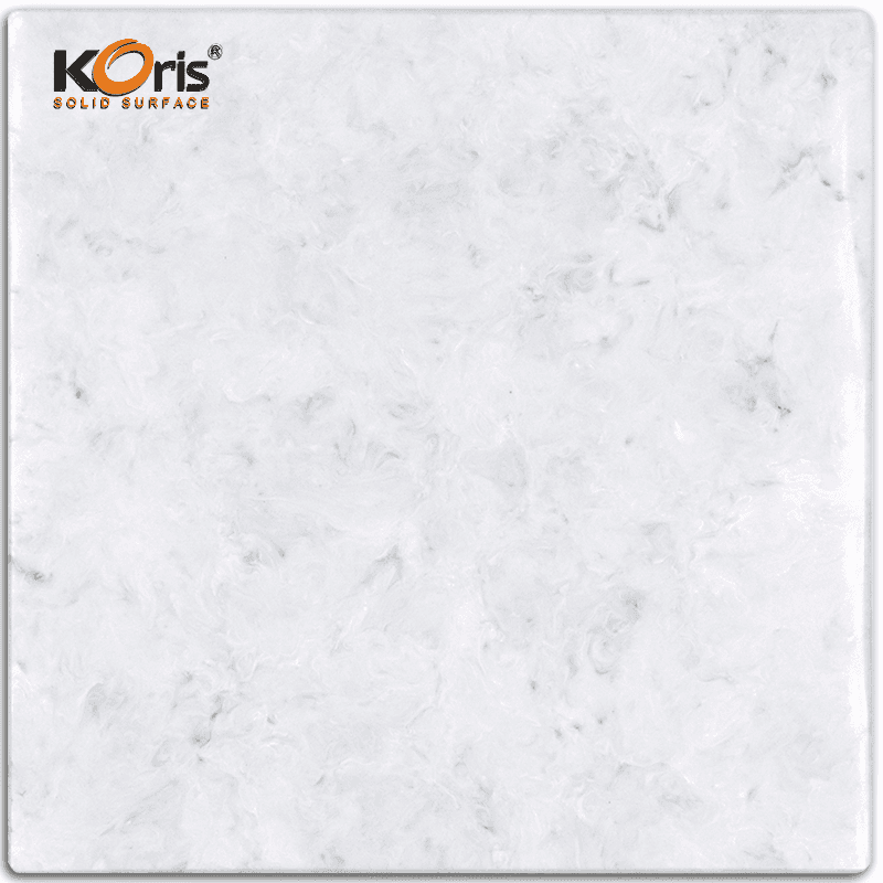 25mm Koris Artificial Stone Modified Acrylic Solid Surface Lavatory Basin Type Seamless Kitchen Tops HW3823