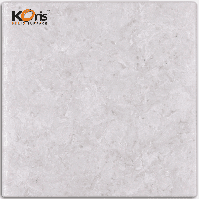Koris Artificial Marble Solid Surface Stone 25mm Modified Acrylic Wash Hand Basin HW5801