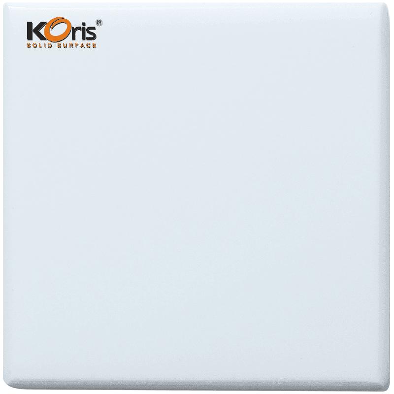 Koris Modified Acrylic Manmade Stone Solid Surface Sheet Vanity Top KA1101