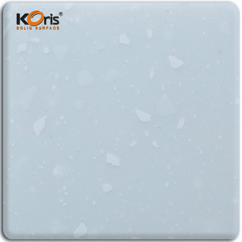 Koris Artificial Stone Summit Magic Pure Acrylic Solid Surface Kitchen Countertops Wholesale MA8830