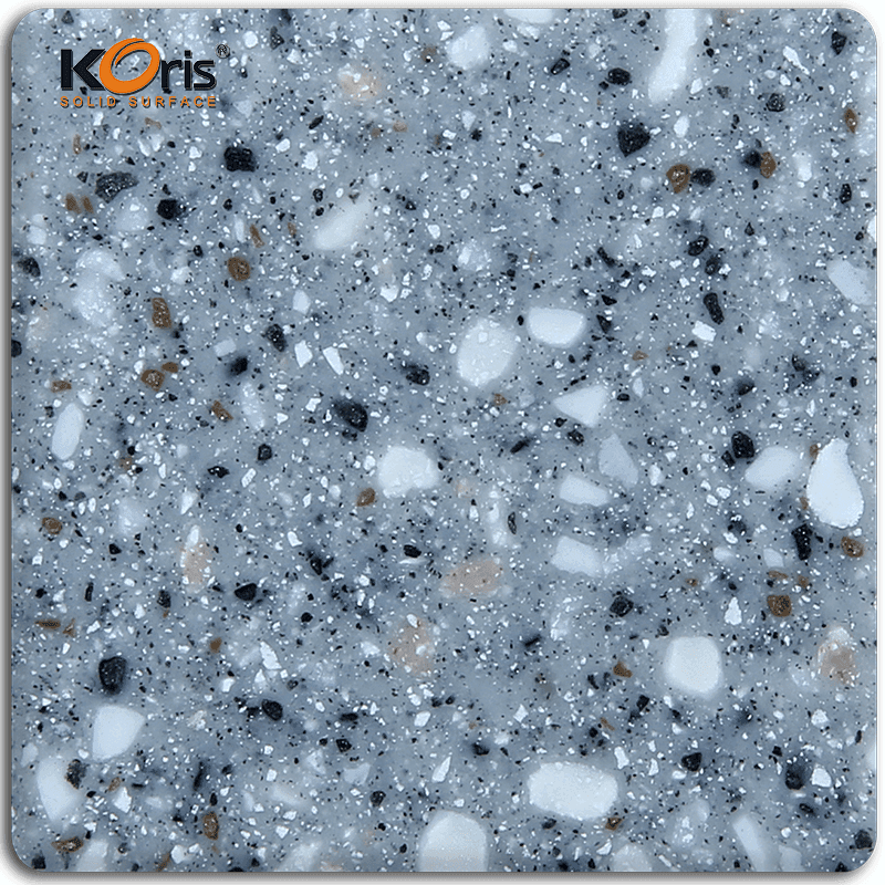 Koris Summit Magic Solid Surface Artificial Stone Type Modified Acrylic Slab Dining Tables KA8811