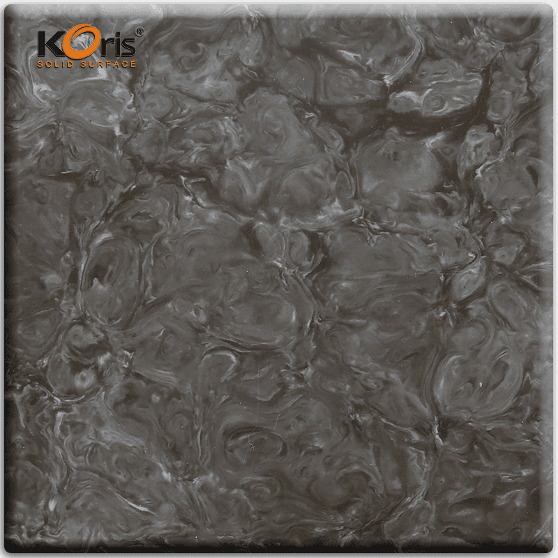 Koris 6-30mm Artificial  Acrylic Marble  Solid Surface Sheet HW2802