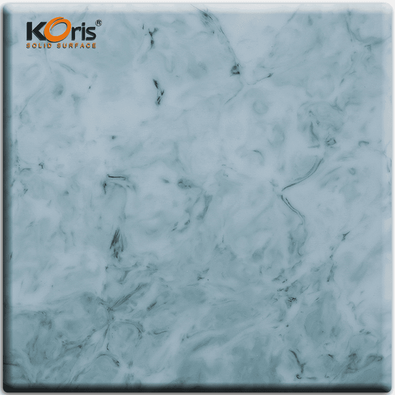 Acrylic Marble Sheet Artificial Marble Solid Surface For Bathroom HW2805
