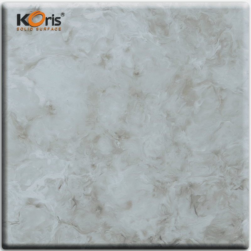 Acrylic Sheets Artificial Marble China Factory HW3802 Solid Surface Slab Dining Tables HW3803